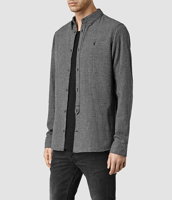 Men's Blackshear Shirt (Black Check) - product_image_alt_text_2