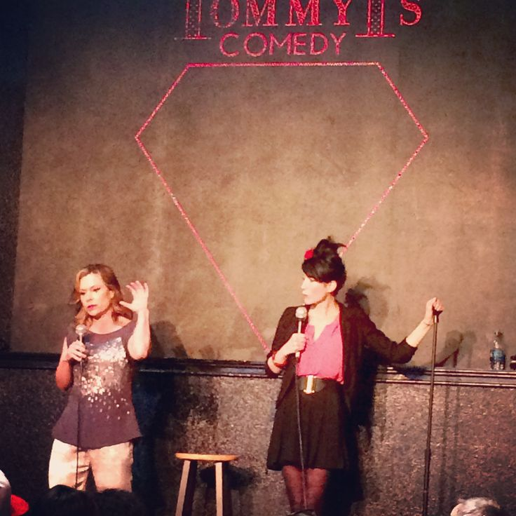 Double linking with Cindy Kaza at Tommy T's