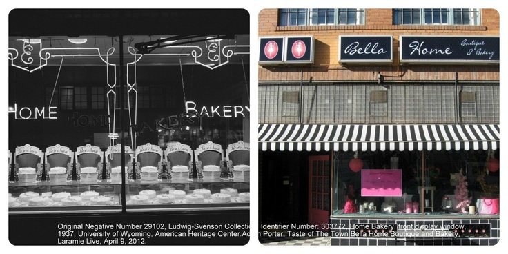 This location has served as a bakery for over 100 years in the Laramie area. This display boasts the use of original Betty Crocker Recipes used for the cakes, times have changed! It used to be known as the Home Bakery and is now Bella Home Boutique and Bakery.Stop by and try one of their delicious cupcakes. Check out the American Heritage Center or Laramie Live to learn more!