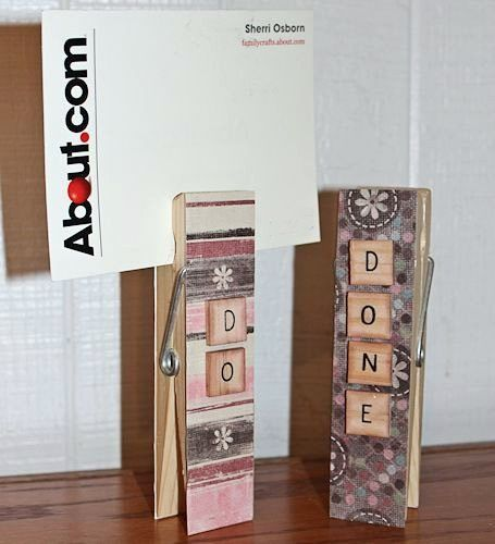tile craft ideas how to recycle your clothespins into new crafts 3108