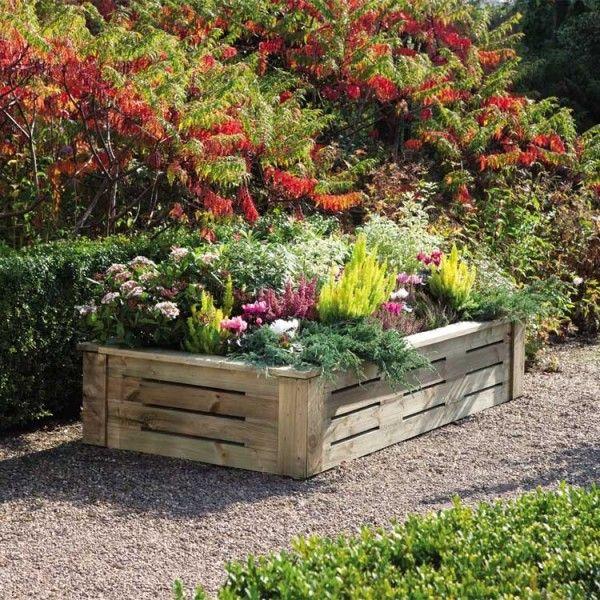 25 trending raised flower beds ideas on pinterest raised beds raised garden beds and raised gardens - Raised Flower Bed Design Ideas