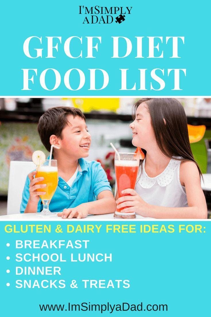 Gluten-free, casein-free diet
