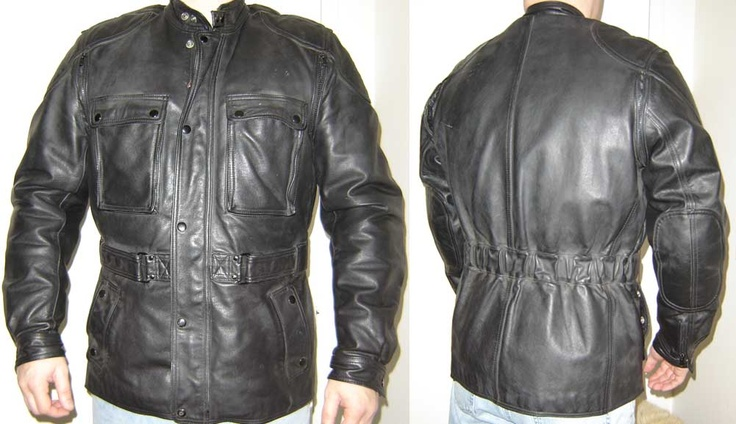 Hein Gericke Dakar 3/4 length leather jacket. The best