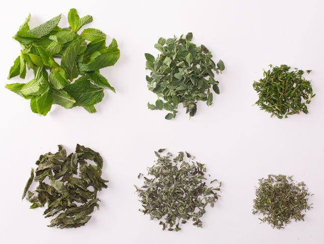 How to Dry Herbs: Mint, Oregano, Thyme, Basil, and Dill: BA Daily
