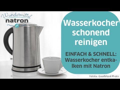 Wasserkocher entkalken und schonend reinigen Dein Wasserkocher ist voller Kalk, sieht unappetitlich aus und du hast auch das Gefühl, dass Kaffee und Tee weni...