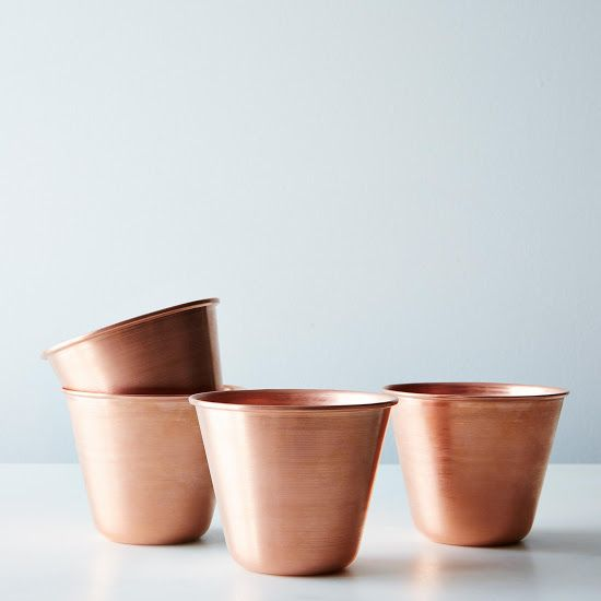 Moscow Mule Copper Cup - Really want these, one of my fav drinks