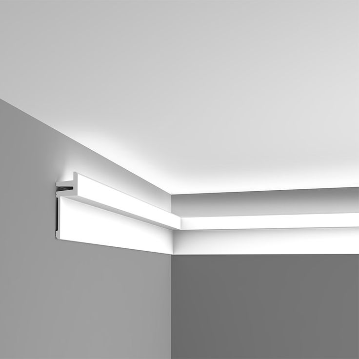 Deckensegel Mit Indirekter Beleuchtung Indirect Lighting Moulding | Play Room In 2019 | Ceiling