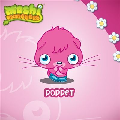 Moshi Monsters Wall Graphics from WALLS 360: Poppet Wall Square II Wall Art