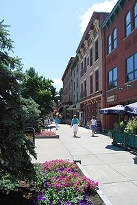 Broadway in Saratoga! It's the August place to be.