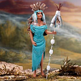 Native American Doll Crystals of Honor by Cindy McClure 2008 Ashton Drake