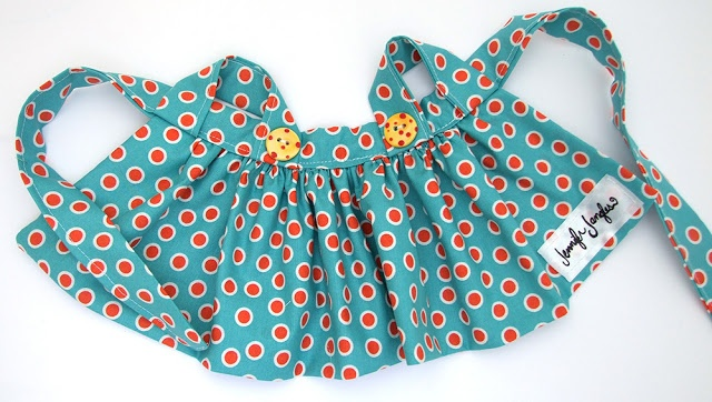 Jennifer Jangles Blog: Dolls Apron Tutorial