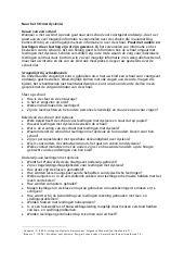 Vragenlijst voor ouders bij keuze VO-school