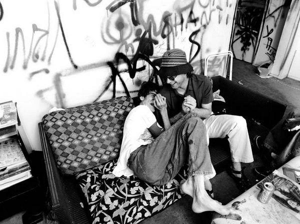 Charly Garcia y Gustavo Cerati