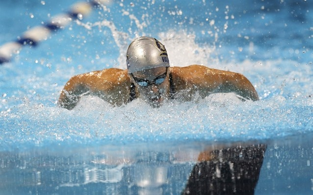 100 metres butterfly