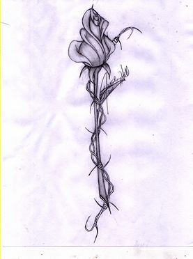 rose tattoo...would put it on my ankle with the stem wrapping around my ankle/foot