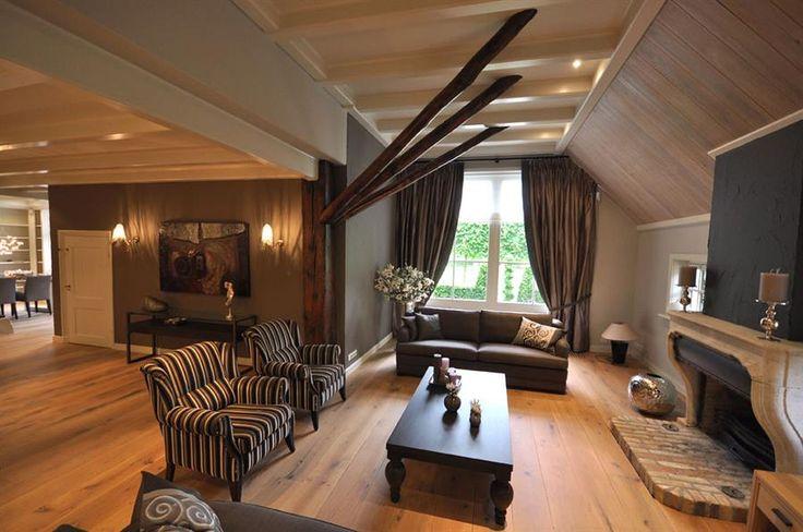 17 beste afbeeldingen over sfeervolle kamers op pinterest grijze muren open haarden en huiskamers - Eigentijdse meubelen ...