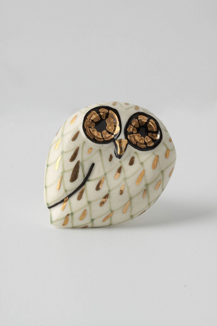 Cabinet Knobs - Owl Knob from Anthropologie