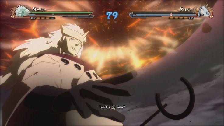 NARUTO SHIPPUDEN Ultimate Ninja STORM 4. 六道マダラVSかぐや [Madara Six Paths vs...