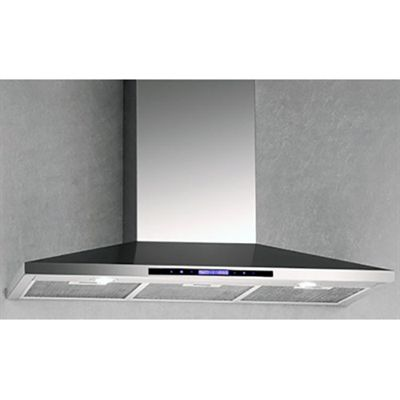 Arda HAS52T Stainless Steel Wall Mount Range Hood with Lights