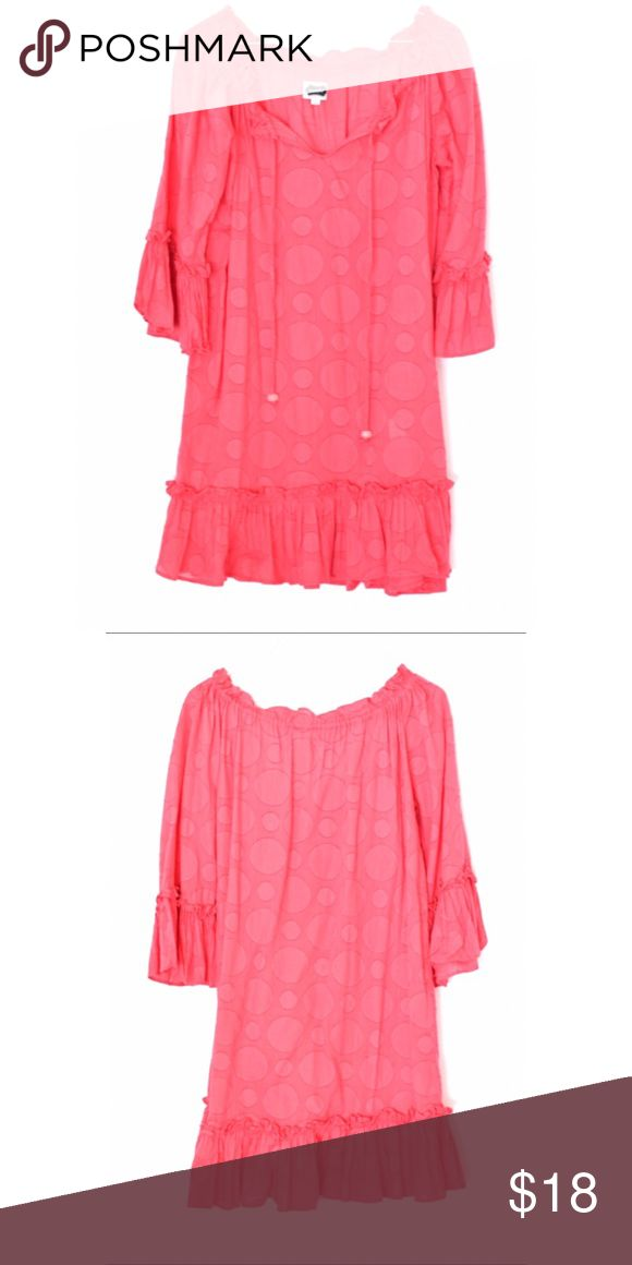 """Pink Mud Pie Dress Good condition. Absolutely adorable. 32""""L 19"""" pit to pit. Is not lined Size Small 2-4 Mud Pie Dresses Mini"""