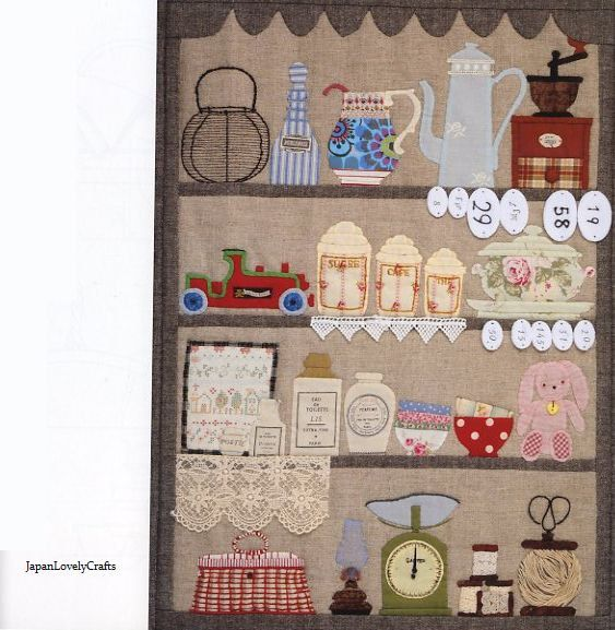 Story Quilt 2 by Yukari Takahara - Japanese Quilting Patchwork Pattern Book. $28.00, via Etsy.
