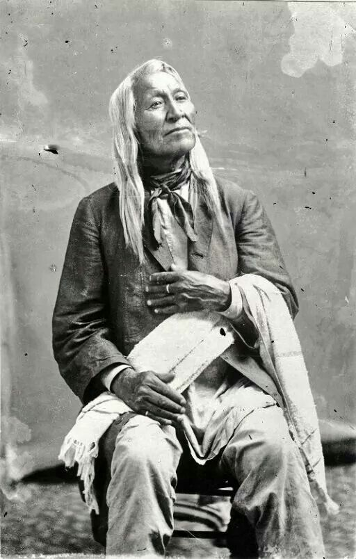 Shoshone Chief Washakie 1800's                                                                                                                                                     More