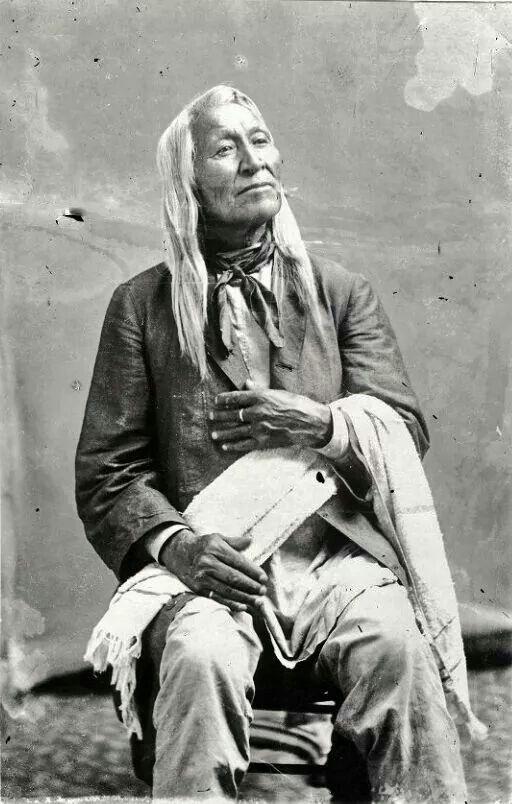 Shoshone Chief Washakie 1800's                                                                                                                                                     More