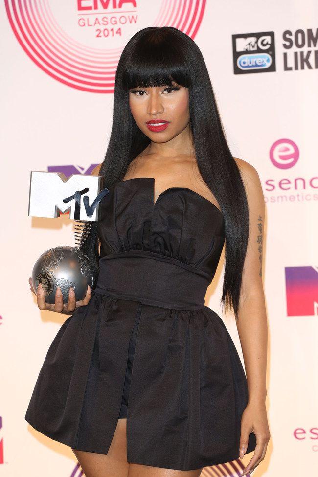 Premios MTV #EMA2014: una noche de espectáculo: Nicki Manaj