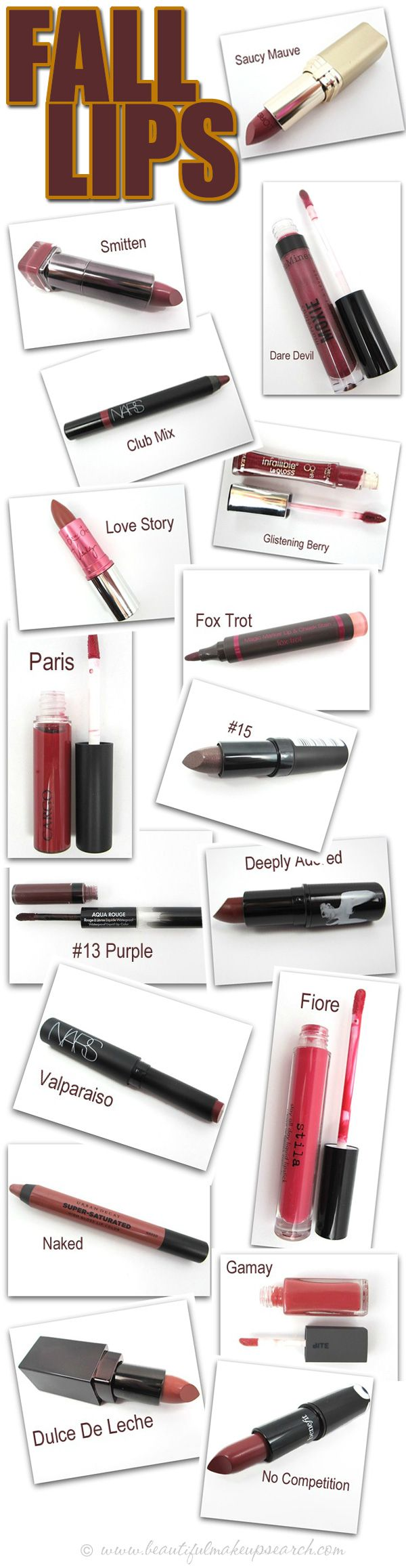 17 Fall Lip Colors to Love.