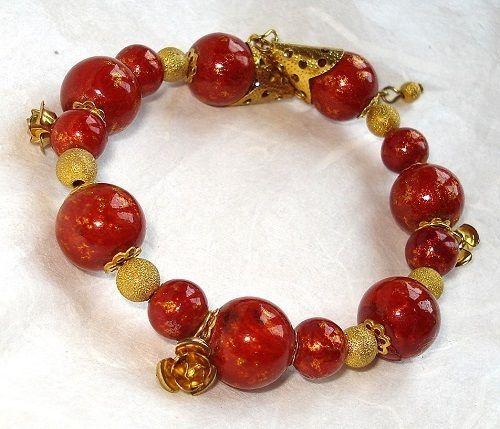 Bransoletka koralikowa w Atelier Decou na DaWanda.com