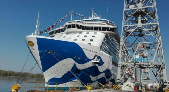 E' stata ufficialmente consegnata oggi la Majestic Princess, la nuova Ammiraglia costruita dall'italiana Fincantieri per Princess Cruisese idea