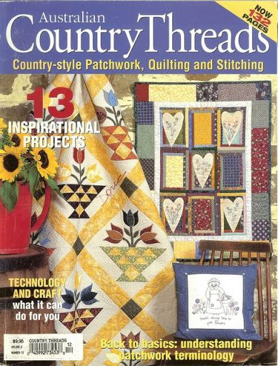 COUNTRY THREADS 2003  101 pages  Picasa Web Albums... medallion dreaming series quilt