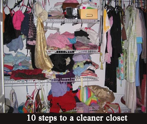 10 steps to a cleaner closetClosets Cleaning, Closets Organic, Cleaners Closets, Closets Spring, Cleaning Out Closets, 10 Step, Cleaning Organic, Closetsdress Room, Spring Cleaning
