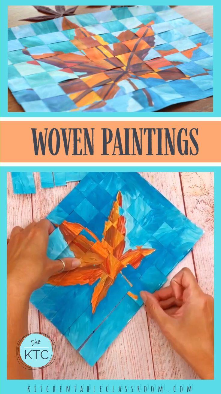 Weaving Two Paintings