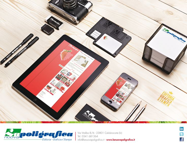 Molto più di un semplice servizio di stampa, forniamo supporto per la progettazione e la realizzazione di qualsiasi prodotto.  www.lanuovapoligrafica.it - https://www.facebook.com/LaNuovaPoligrafica