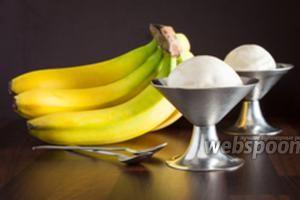 Мороженое из банана