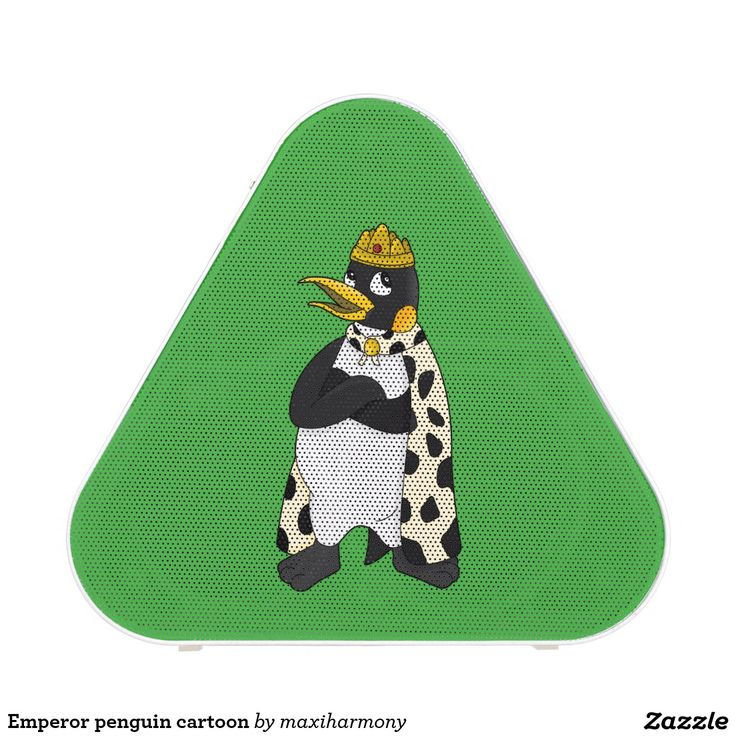 Emperor penguin cartoon speaker