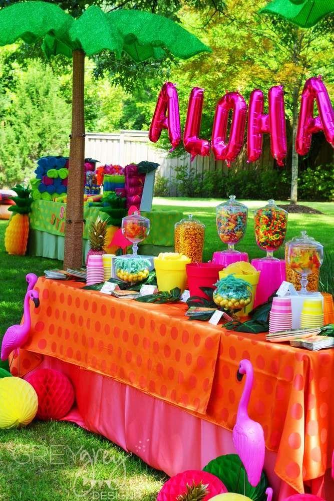 Luau Hawaii Beach Graduation End Of School Party Ideas Beach