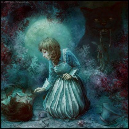 """Картинки к книге """"Алиса в Стране Чудес"""" (Льюис Кэрролл) - Книги в картинках"""