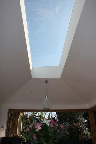 Extension, New Malden -intersting rooflight