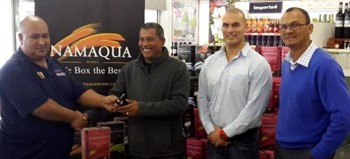 "Winner of the Ultra Liquors and Namaqua Wines ""Win a Car"" Competition announched"