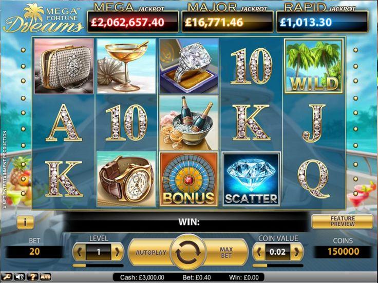 Bonus , Wild todo brilla al estilo de Las Vegas! Puedes jugar totalmente gratis o apostar.  - http://www.tragamonedas-paraiso.com/juegos/mega-fortune-dreams-tragaperras