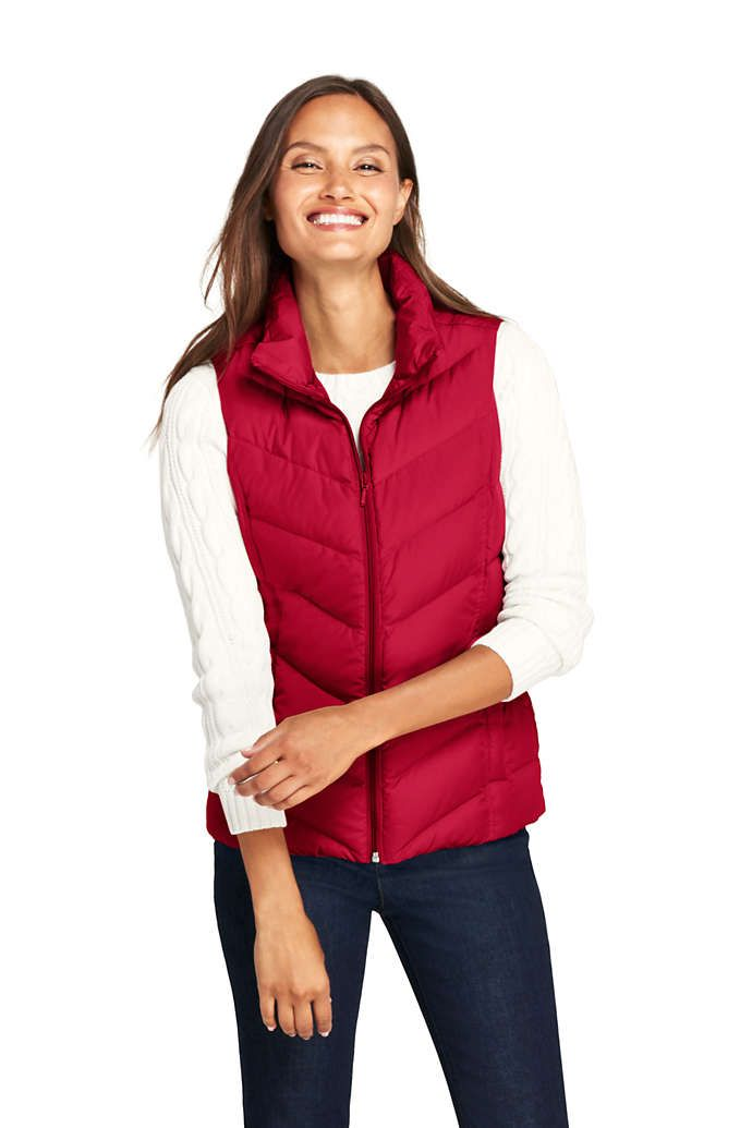 9bf960f0102 Women's Petite Down Puffer Vest from Lands' End | Outerwear in 2019 ...