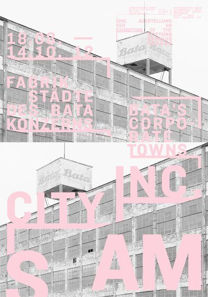 : Graphics Design Typography, Architecture Museums, Colors Choice, Cities, Graphics 1312, D Graphics Posts, Poster, Blushes, Baby Pink
