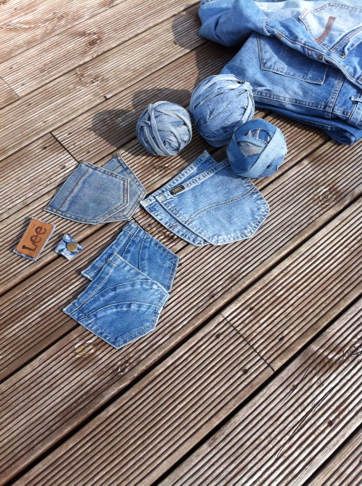 Recycle jeans