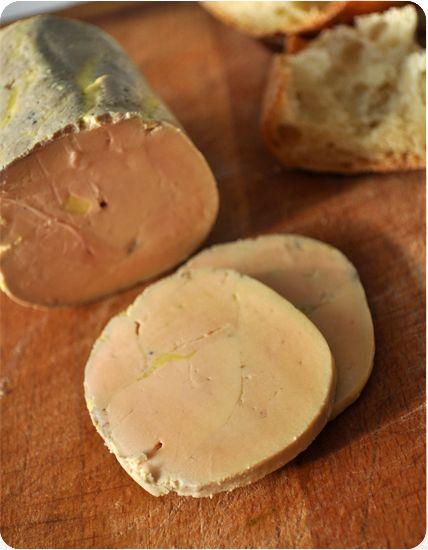 Foie gras mi-cuit à la vapeur