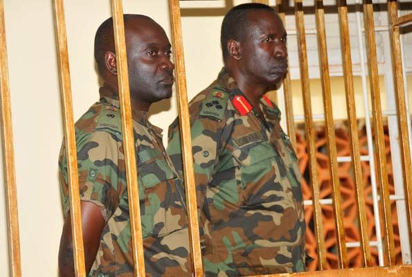#Uganda selective prosecution by #Museveni's court martial - where are the  Mushabes and Barigye????