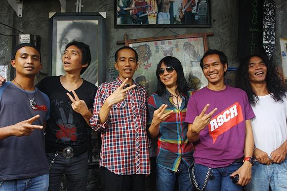 Jokowi Walikota Solo Resmi Jadi Anggota Slankers