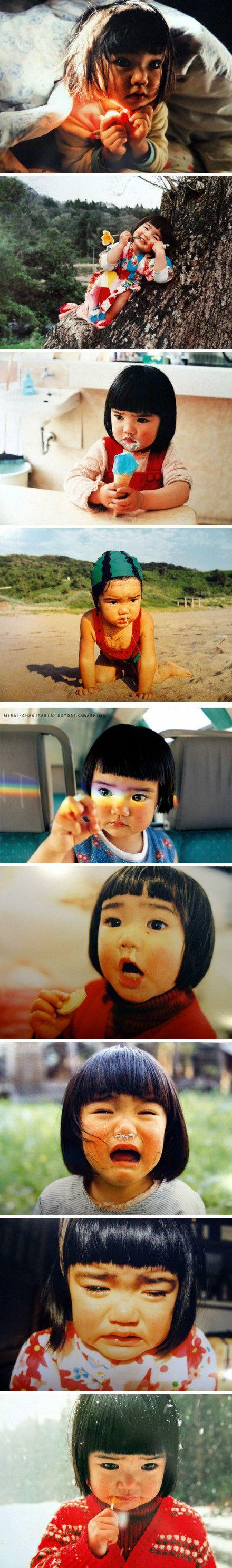 Mirai Chan by Kawashima Kotori // In LOVE with this photography series