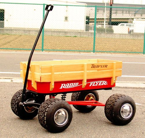 Anybody ever built a custom Radio Flyer wagon?